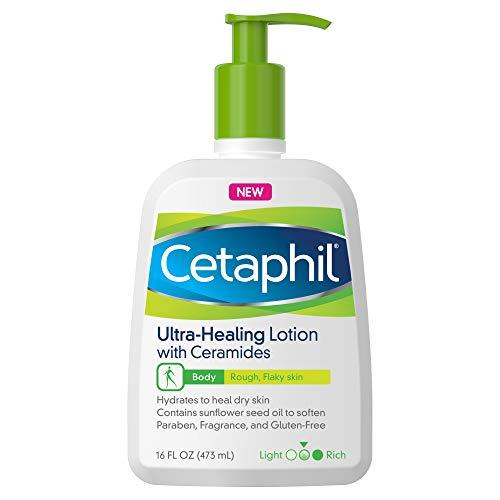"""<p><strong>Cetaphil</strong></p><p>amazon.com</p><p><strong>$19.99</strong></p><p><a href=""""http://www.amazon.com/dp/B07S7FRWKR/?tag=syn-yahoo-20&ascsubtag=%5Bartid%7C10072.g.28436678%5Bsrc%7Cyahoo-us"""" target=""""_blank"""">SHOP NOW</a></p><p>""""If creams and ointments are too greasy for you, this is a lightweight but still extremely hydrating option that I love,"""" says dermatologist <a href=""""https://brownderm.org/doctor/tiffany-jow-libby-md/"""">Dr. Tiffany Libby</a>. """"This also contains sunflower seed oil, rich in linoleic acid which works to decrease trans-epidermal water loss, improving skin hydration and minimizing skin irritation.""""</p>"""