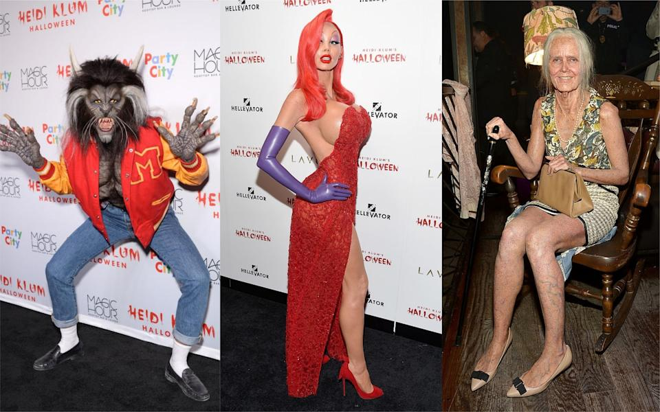 Heidi Klum pulls out all of the stops for Halloween [Photo: Getty]