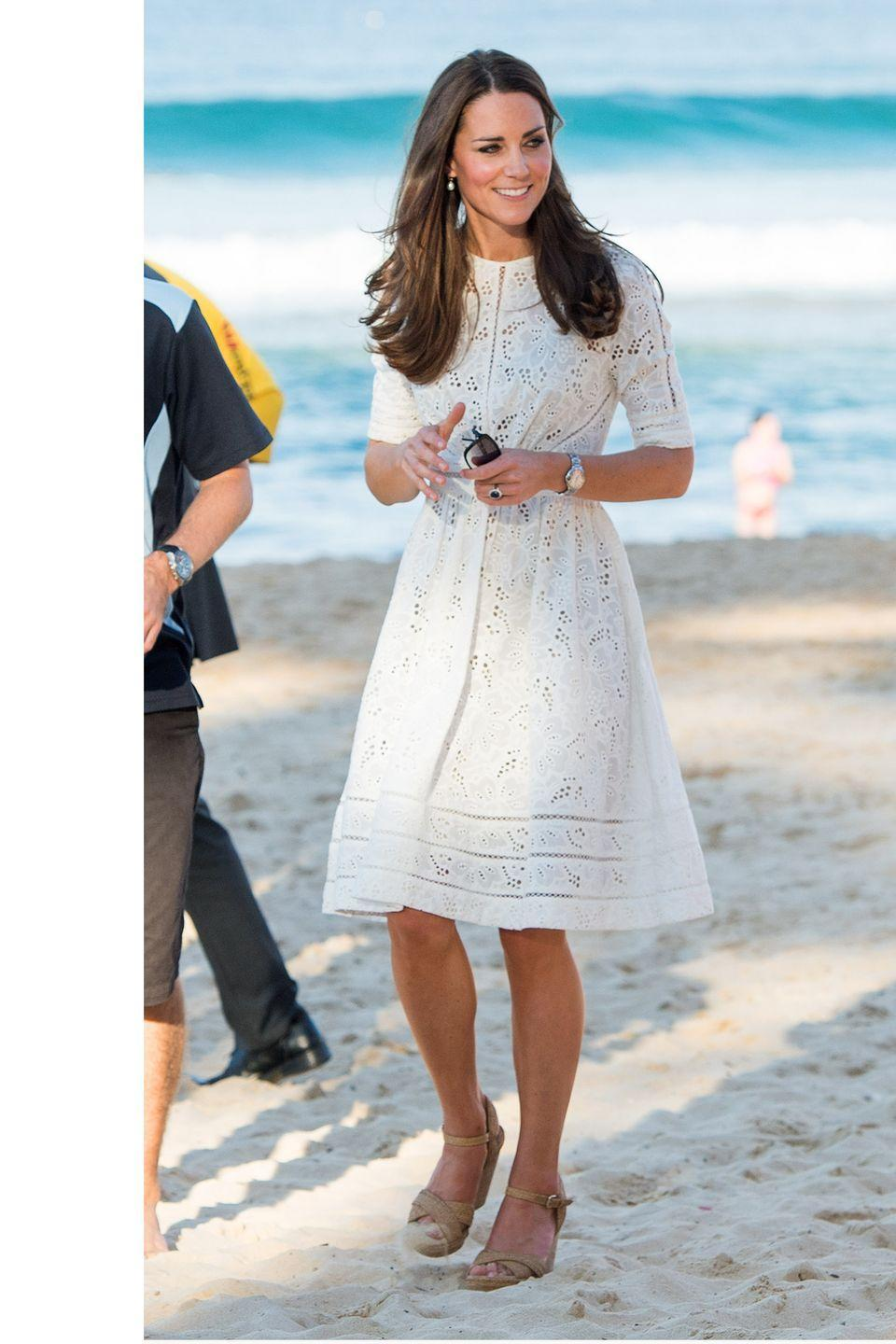 <p>Visiting Manly Beach in Sydney, Australia in a Zimmerman dress</p>