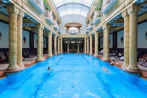 <span>Budapest's Art Nouveau Gellert Baths are a grand place for a dip</span> <span>Credit: Credit: Sorin Colac / Alamy Stock Photo/Sorin Colac / Alamy Stock Photo </span>