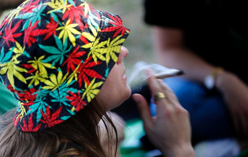 There is a certain level of tolerance for marijuana use in Israel, with the government in March approving a plan to partially decriminalise it in favour of fines and treatment (AFP Photo/THOMAS COEX)