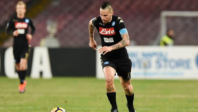 <p>Hamsik has proved himself as one of the best attacking midfielders in Serie A over the last number of years.</p> <p>In ten season at Napoli, the Slovakian has scored 110 goals in all comepetitions.</p> <p>He has continued that effort this campaign, and has managed just under a goal every three games in the league this year.</p>