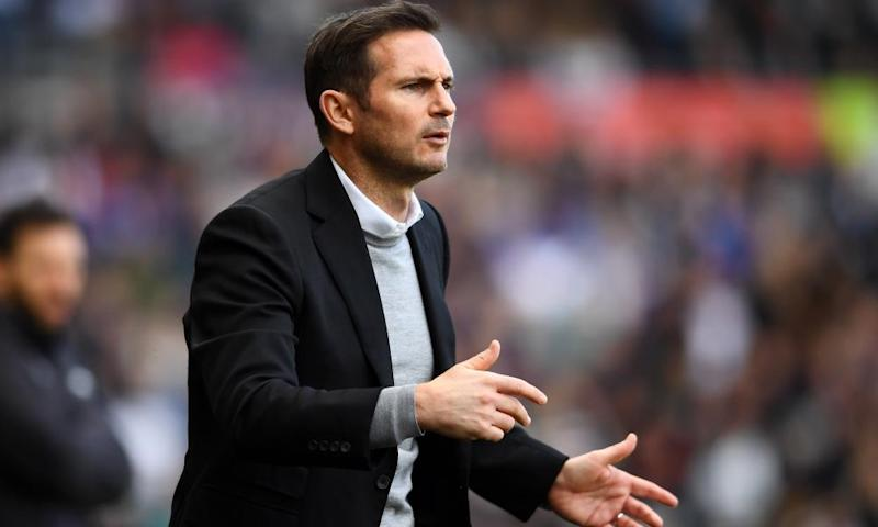 Frank Lampard has been a key influence on Wilson at Derby County.