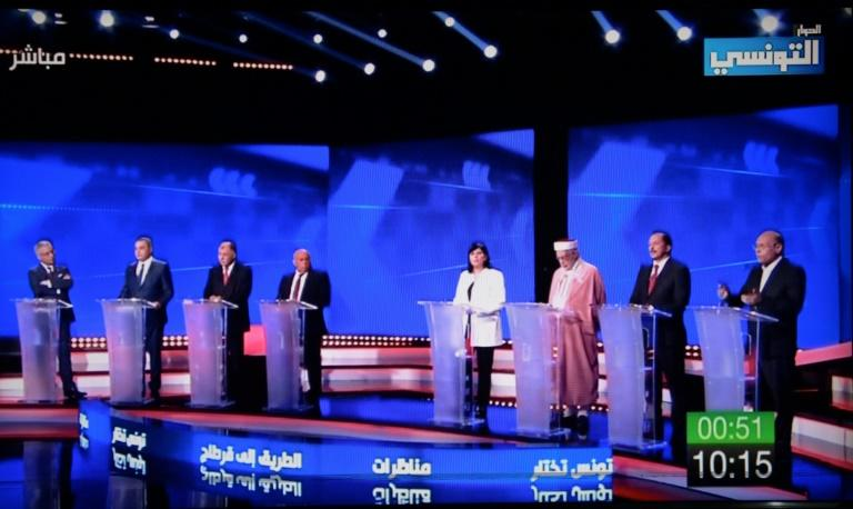 None of the candidates in Tunisia's presidential election appear to have stood out despite squaring off in multiple debates that were broadcast on radio and television