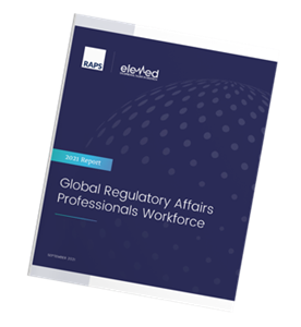 Global Regulatory Affairs Professionals Workforce report from RAPS and Elemed