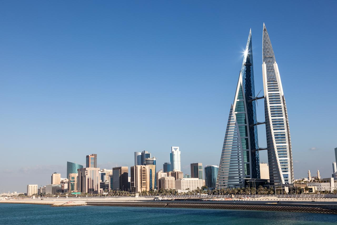 <p>13: Bahrain – Bahrain scored well for job prospects, and the full experience of life there, although family life was not that great.<br /> (typhoonski/Getty) </p>