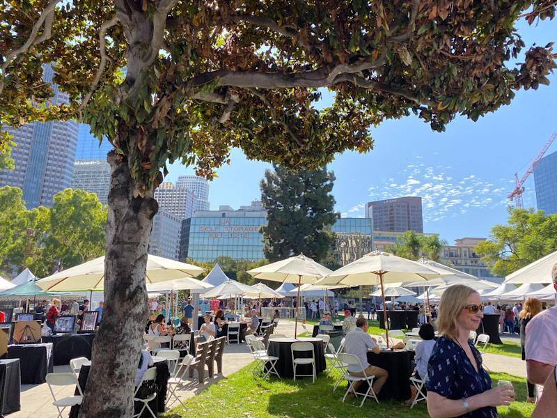 The USA TODAY Wine and Food Experience came to Los Angeles Center Studios Nov. 10, hosting approximately 2,000 guests, according to festival organizers.