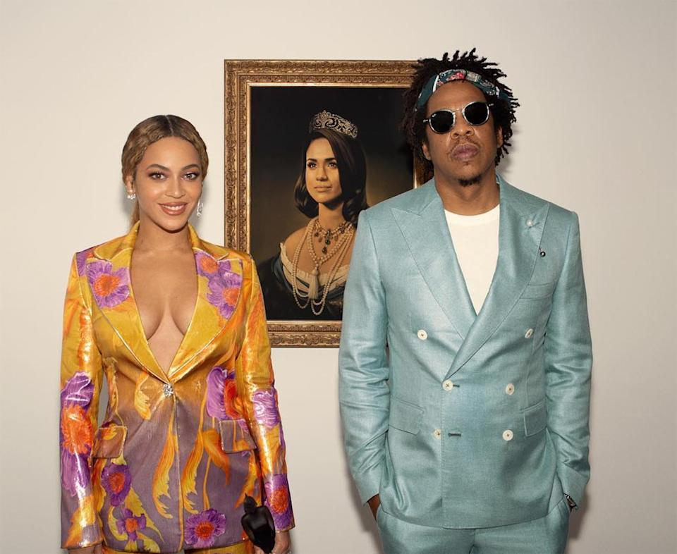 "<p>In 2019, the star added another Grammy to her ever-growing pile when she and husband JAY-Z won for <a href=""https://people.com/music/beyonce-jay-z-everything-is-love-track-lyrics-breakdown/"" rel=""nofollow noopener"" target=""_blank"" data-ylk=""slk:EVERYTHING IS LOVE"" class=""link rapid-noclick-resp""><em>EVERYTHING IS LOVE</em></a>. </p> <p><strong>Beyoncé's Grammy Tally: </strong>23</p>"