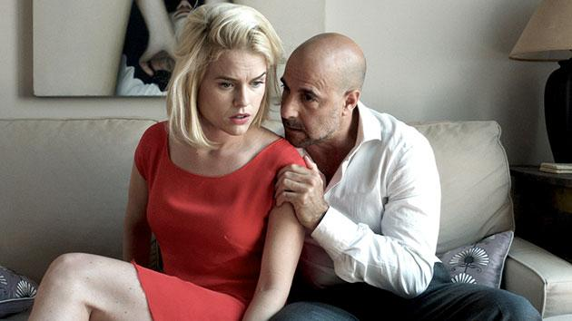 Alice Eve and Stanley Tucci in 'Some Velvet Morning'