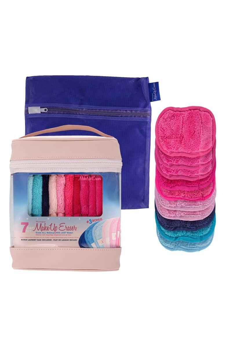 <p>They can save on makeup wipes with this <span>Makeup Eraser 10-Day Cloth Set</span> ($30).</p>