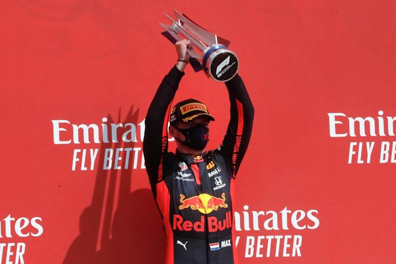 Italian Grand Prix: Verstappen Crashes As Mercedes Dominate First Practice At Monza