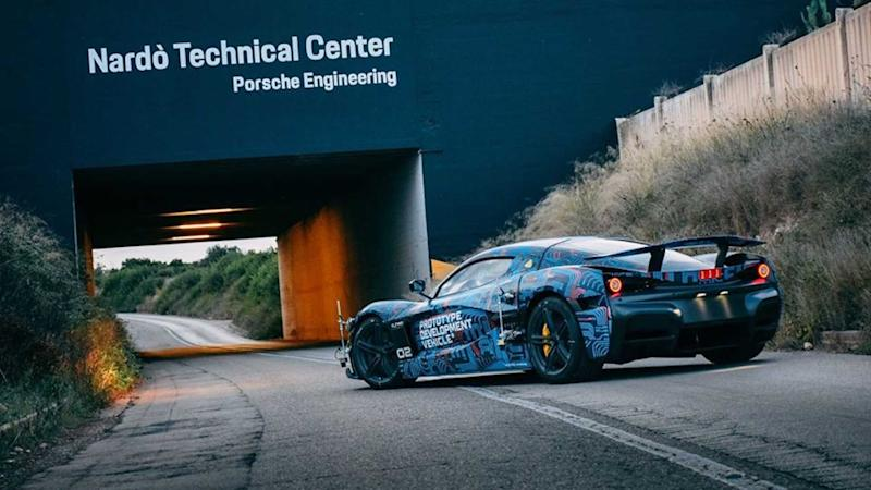 Rimac C_Two Prototype Testing At Nardo