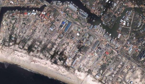 PHOTO: Mexico Beach, Fla., seen after Hurricane Michael, in this image released by NOAA. (NOAA)