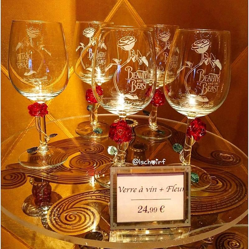You'll Want These Enchanted Rose Wine Glasses in Your Cabinet ASAP
