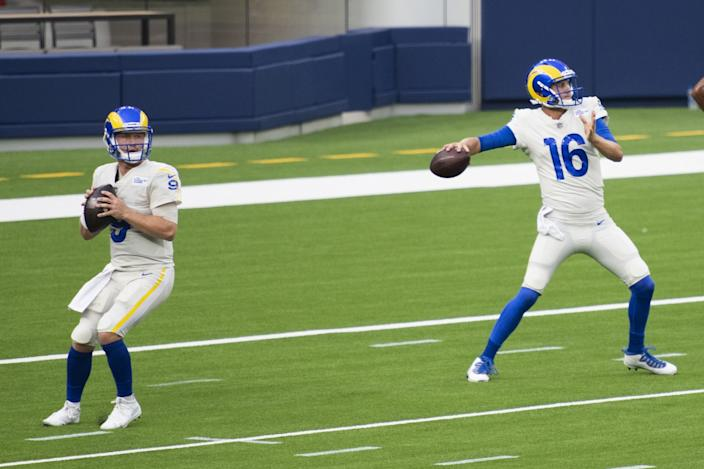 Rams Backup Quarterback John Wolford Says He S Ready To Step In If Needed