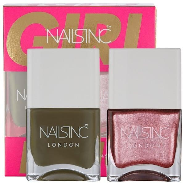 <p>Treat the boss in your life to the aptly named <span>Nails Inc. Girl King Nail Polish Duo</span> ($15) and watch those nails shine.</p>