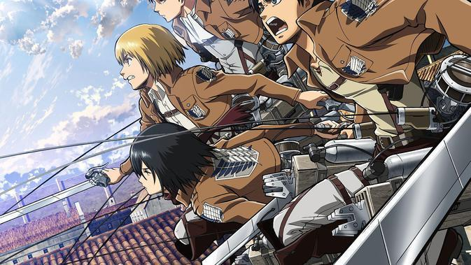 Anime Attack on Titan. (Wit Studio)
