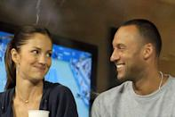 """<p>One of Minka's most high-profile relationships was with NY Yankees star Derek Jeter, whom she dated <a href=""""https://www.popsugar.com/celebrity/Minka-Kelly-Derek-Jeter-Breakup-News-18875996"""" class=""""link rapid-noclick-resp"""" rel=""""nofollow noopener"""" target=""""_blank"""" data-ylk=""""slk:from May 2008 to August 2011"""">from May 2008 to August 2011</a>.</p>"""