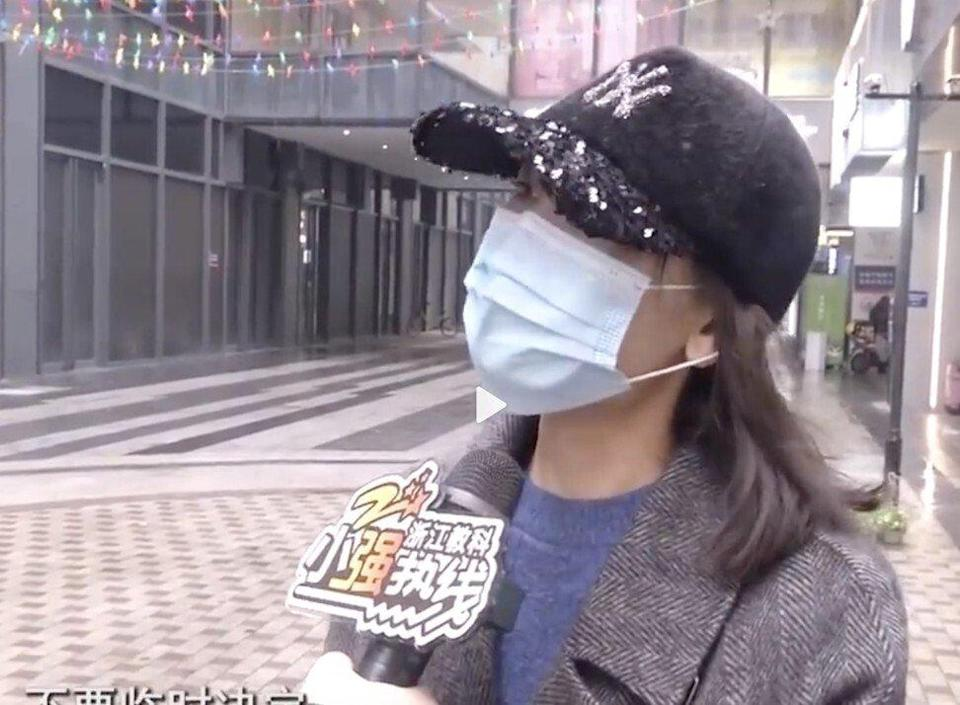 The 36-year-old cosmetologist, surnamed Wang, was sacked after not staying behind after work to practise dancing for the company's upcoming annual party. Photo: Weibo