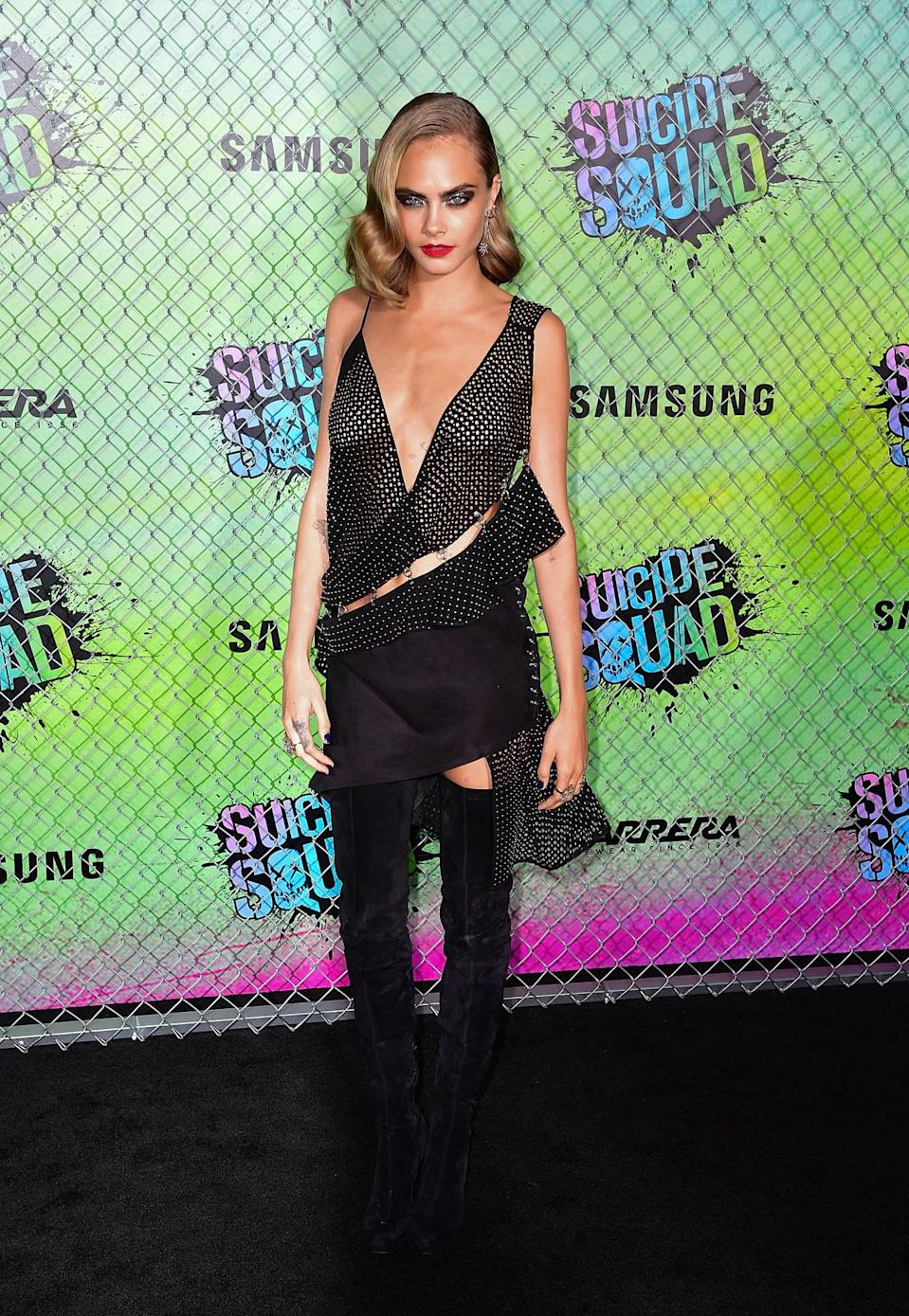 Cara Delevingnes Suicide Squad Role Forcing Her To See A
