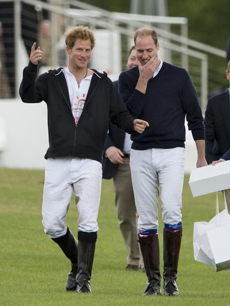 Prince William has made a gushing confession about Prince Harry. Photo: Getty Images