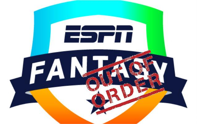 ESPN Fantasy Football Is Down During The First Sunday Of The