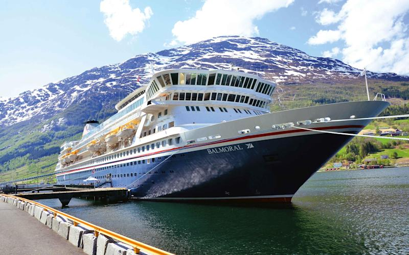 Passengers could turn to vessels such as Fred Olsen's Balmoral - FRED OLSEN CRUISE LINES
