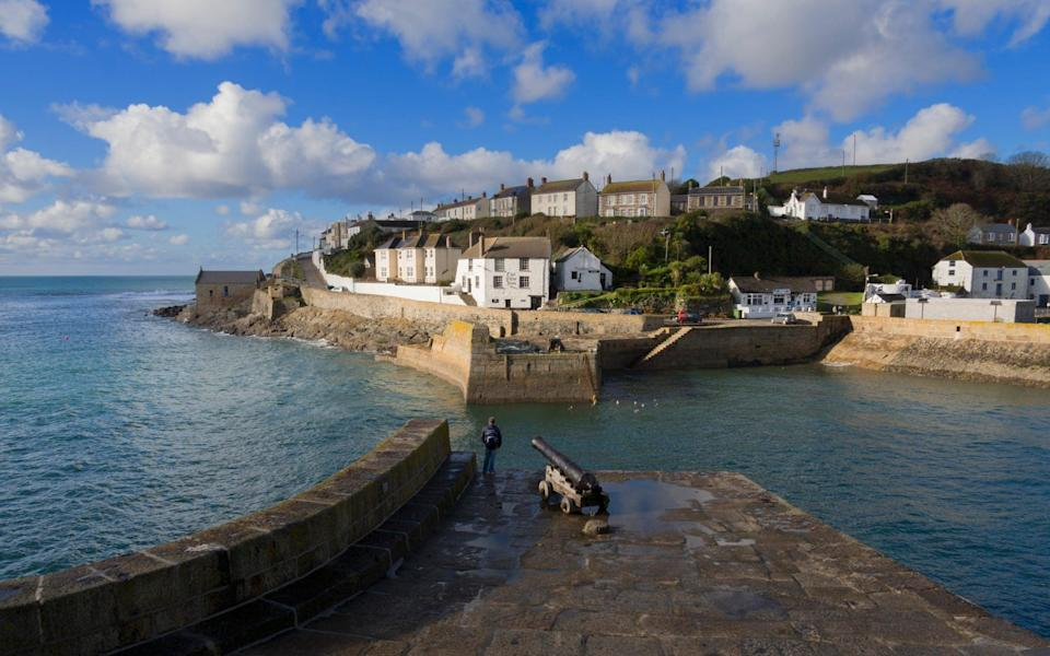 The outer harbour of Porthleven fishing village in Cornwall. - Getty Contributor/GETTY IMAGES
