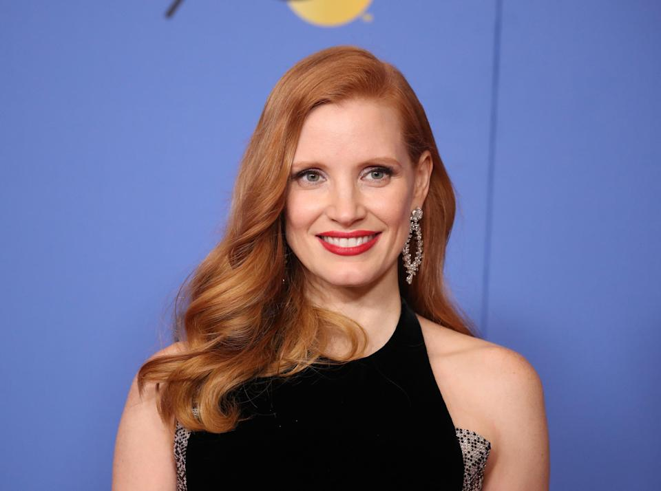 Jessica Chastain slams All the Money in the World for pay disparity (REUTERS)