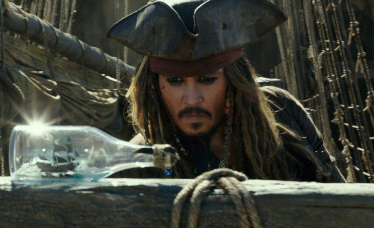 Depp... defended in exposé over troubled production of Pirates of the Caribbean 5 - Credit: Disney