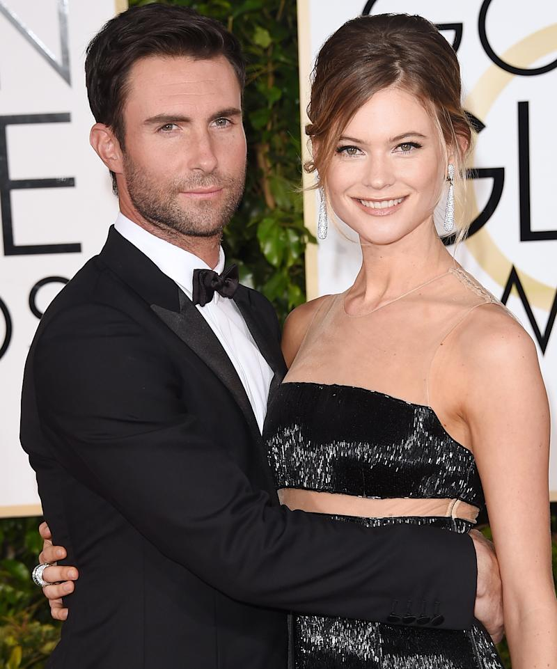 See the First Photo of Adam Levine and Behati Prinsloo's Baby Girl Gio Grace