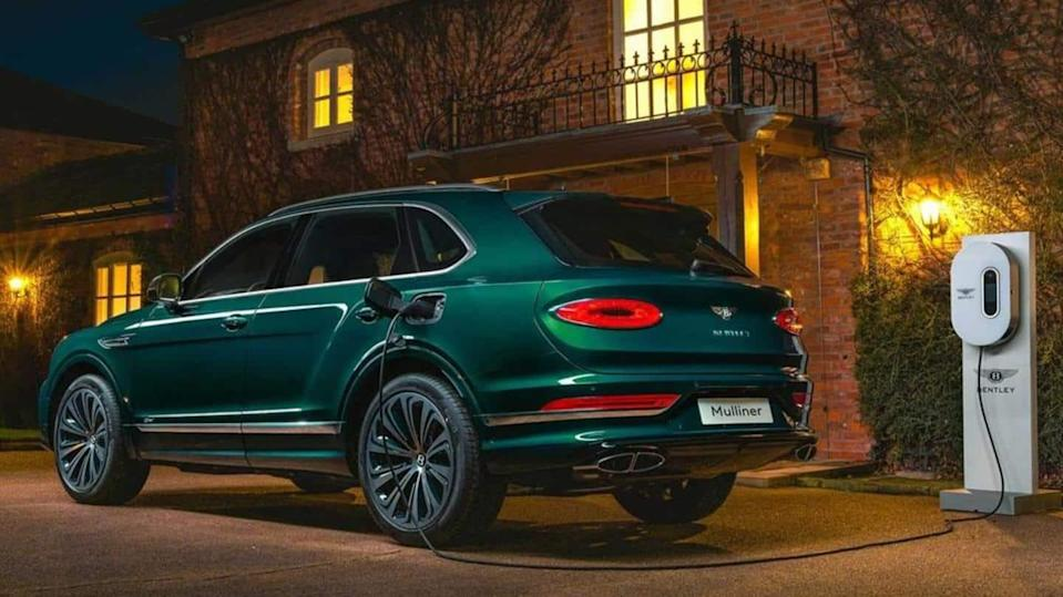 Bentley to launch its first electric car in 2025