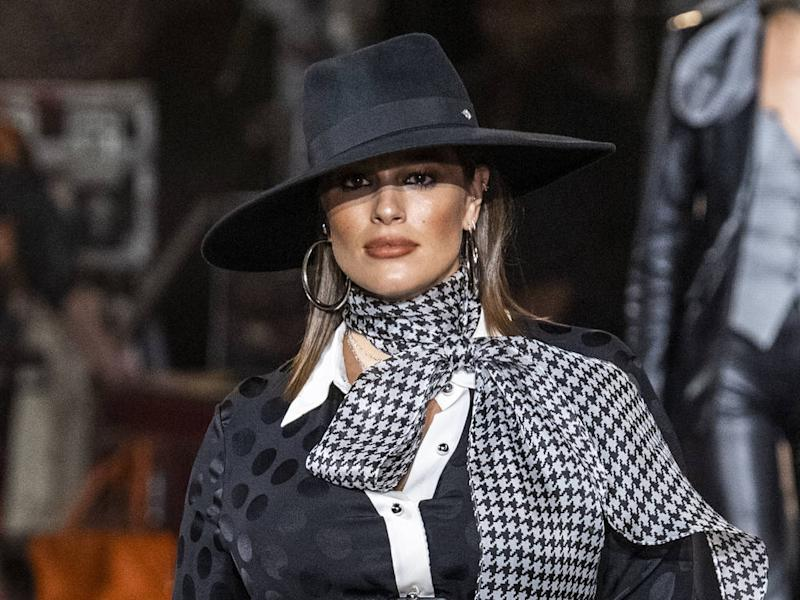 Ashley Graham honoured to walk in fashion show while pregnant