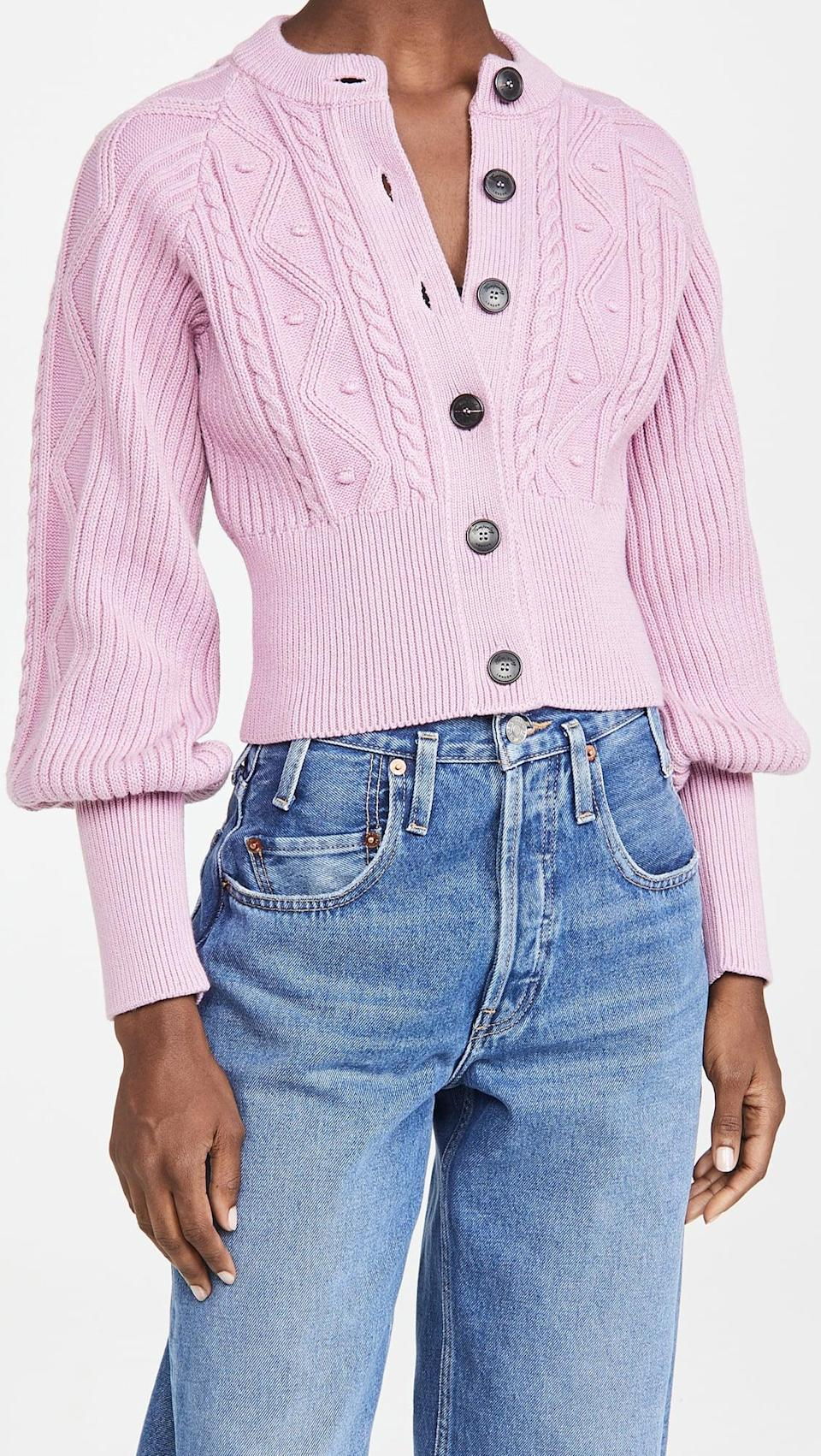<p>This <span>Temperley London Shelley Knit Cardigan</span> ($695) looks like a worthy investment.</p>