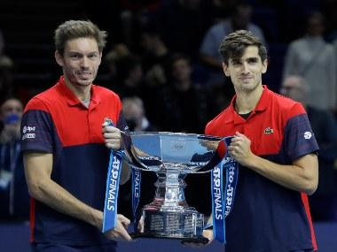 ATP Finals 2019: Pierre-Hugues Herbert and Nicolas Mahut clinch doubles crown after last year's heartbreak
