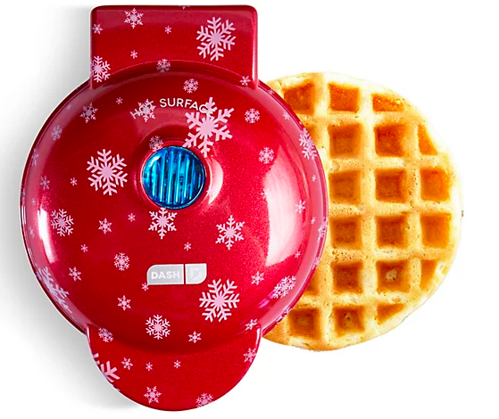 The question is, will you choose snowflakes or gingerbread men? (Photo: QVC)