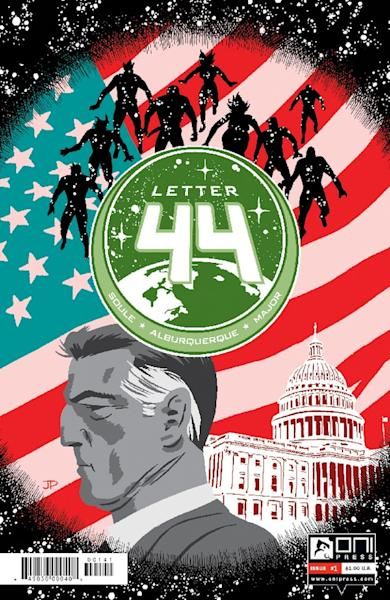 Charles Soule's Oni Press series Letter 44 will be coming to Syfy.