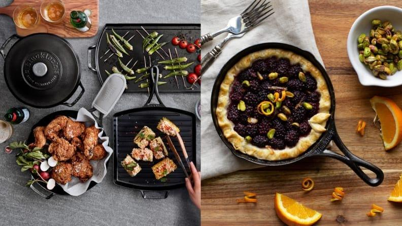 You'll need more than one cast iron pan to prepare your feast.