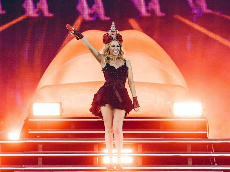 Kylie Minogue headlines BST Hyde Park 2015 (Rex Features)