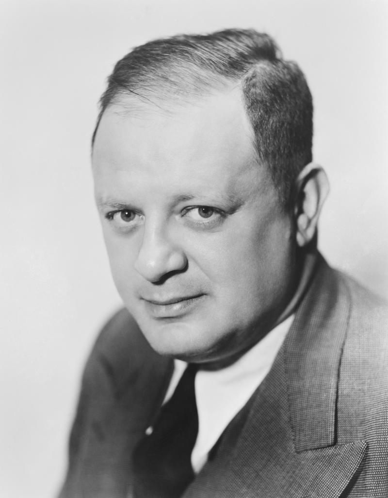 "Head and shoulders photo of Herman Mankiewicz, MGM contract writer and the screenwriter for ""Citizen Kane."" Ca. 1940s. (Photo by �� John Springer Collection/CORBIS/Corbis via Getty Images)"