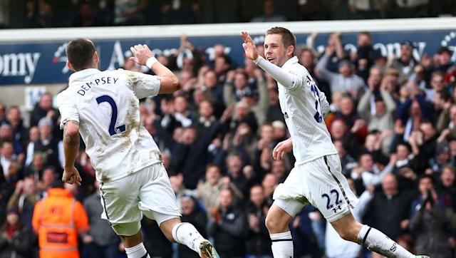 <p>During his time at Fulham, American Clint Dempsey was number 23. But when he got his big move to Tottenham Hotspur in 2012, he opted for a change. This time he chose the number two shirt for Spurs.</p> <br><p>Typically a defender's number, it was unusual to see it on the back of a forward's shirt. Outside of football, Dempsey's other passion hip hop music, where his rapper nickname is 'Deuce'. At Spurs he was finally 'Deuce' both off and on the pitch.</p>