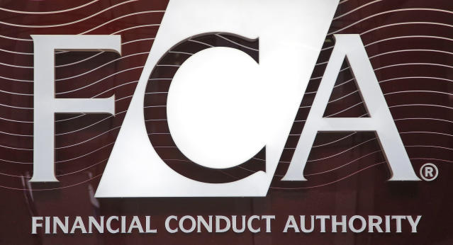 The logo of the Financial Conduct Authority (FCA). Photo: REUTERS/Chris Helgren