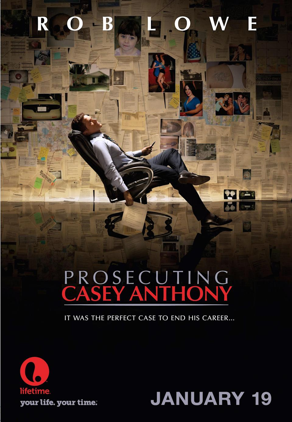 """<p>The trial of Casey Anthony for the murder of her daughter, Caylee, was a media firestorm back in 2011. (I remember watching it in real time!) In this Lifetime movie, we see it from the perspective of the prosecutor (Rob Lowe) responsible for building evidence against her. </p> <p><a href=""""https://www.amazon.com/Prosecuting-Casey-Anthony-Rob-Lowe/dp/B00DM0X9IK/ref=sr_1_1?dchild=1&keywords=Prosecuting+Casey+Anthony&qid=1595444491&sr=8-1"""" rel=""""nofollow noopener"""" target=""""_blank"""" data-ylk=""""slk:Buy on Amazon Prime Video"""" class=""""link rapid-noclick-resp""""><em>Buy on Amazon Prime Video</em></a></p>"""