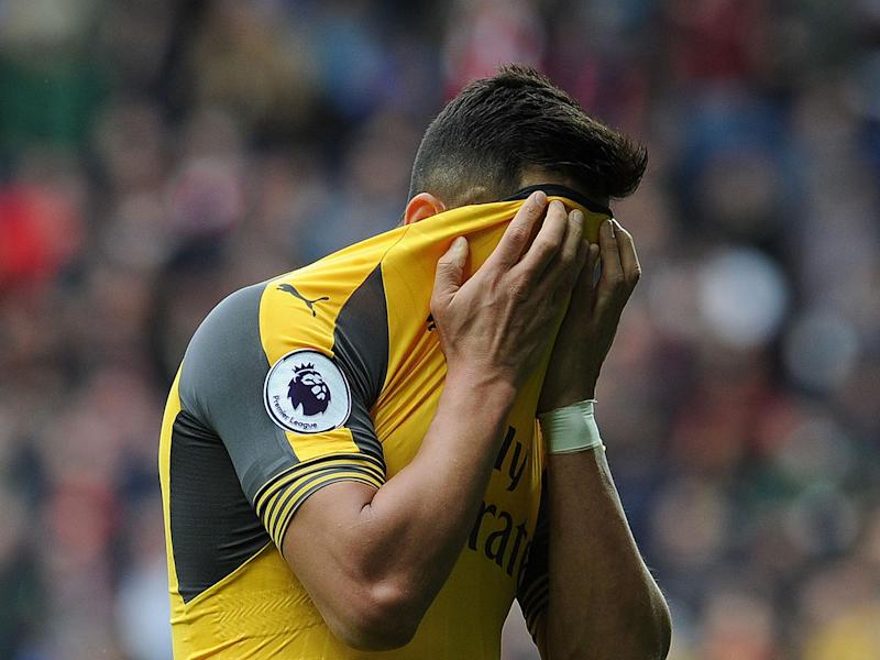 Alexis Sanchez and Arsenal had another day to forget: Getty