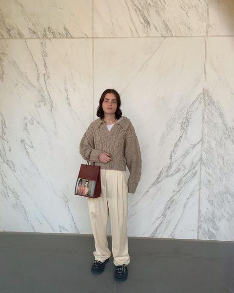 "<p>If you're in an outfit rut, give Reese Blutstein for so many ideas on how to style pieces and push yourself outside of the box. </p><p><a href=""https://www.instagram.com/p/CGdFe7ujNxH/"" rel=""nofollow noopener"" target=""_blank"" data-ylk=""slk:See the original post on Instagram"" class=""link rapid-noclick-resp"">See the original post on Instagram</a></p>"