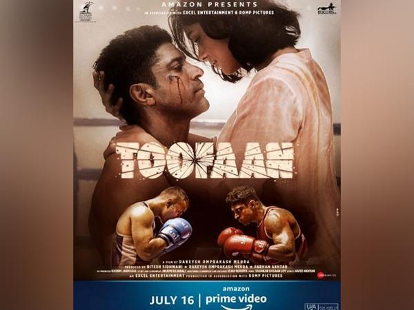New poster of 'Toofan' (Image source: Twitter)