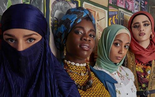 """<span class=""""caption"""">We Are Lady Parts is a comedy following the members of a all girl Muslim punk band in London. </span> <span class=""""attribution""""><span class=""""source"""">Channel 4</span></span>"""