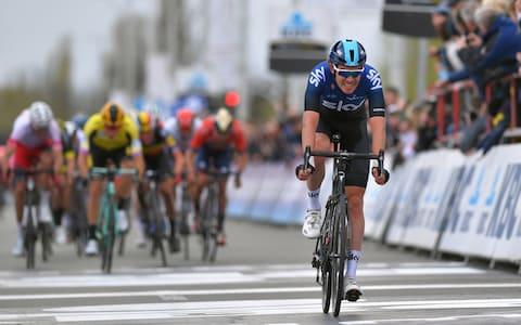 <span>After a run of bad luck in recent years, the Team Sky rider says he feels in good shape again on the bike</span> <span>Credit: Getty Images </span>