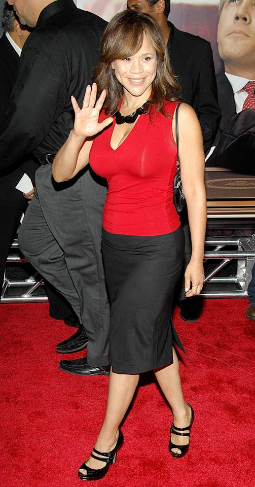 """<a href=""""http://movies.yahoo.com/movie/contributor/1800019473"""">Rosie Perez</a> at the New York premiere of <a href=""""http://movies.yahoo.com/movie/1810026489/info"""">W.</a> - 10/14/2008"""