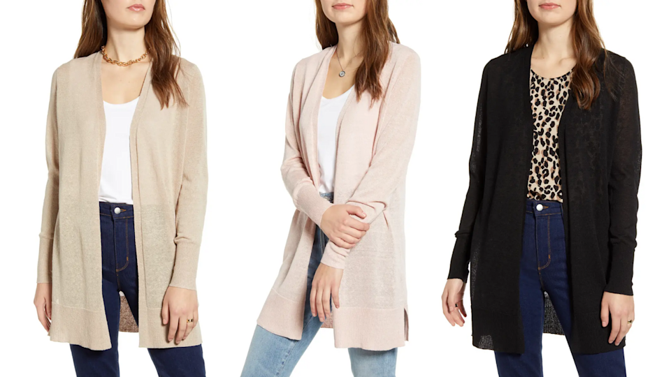 Best gifts for mom 2020: Halogen cardigan